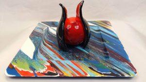 Arlet Kuller deelnemer Artworkum 2016  glas kunst